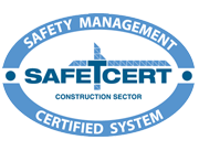 Safe-T-Cert Logo - Carn Developments are Safe-T-Cert accredited