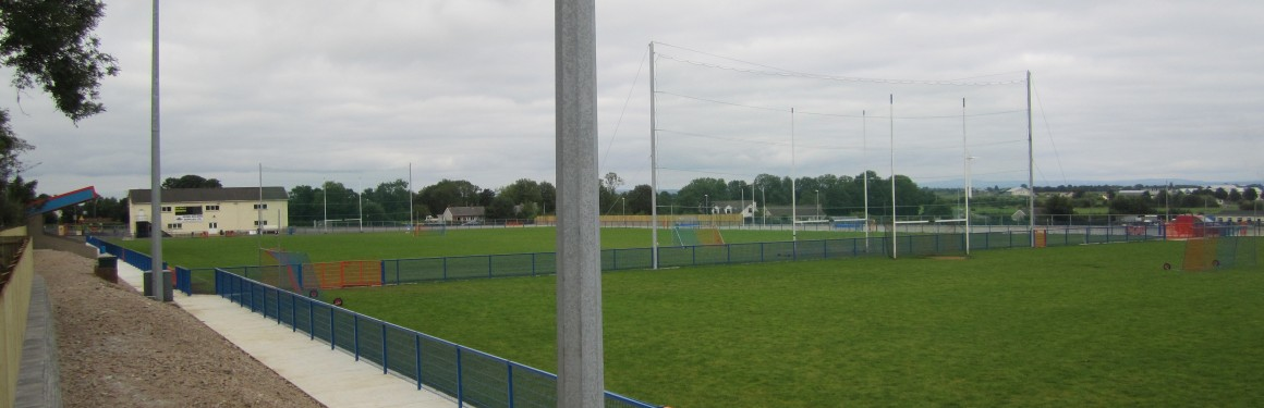 Carn Developments carried out Pitch and Ground Works at Ardboe GAC