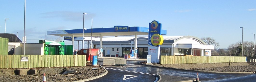 Carn Developments specialise in building filling stations